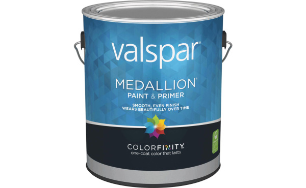 Valspar Medallion 100% Acrylic Paint & Primer Interior Wall Paint, White, 1 Gal.