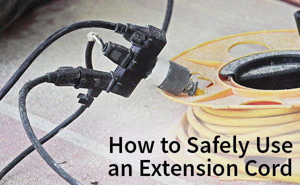 How to Safely Use an Extension Cord